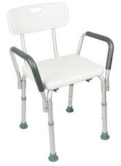 Shower Chair with Back By Vive  sc 1 th 240 & Best Handicap Shower Chairs for Elderly and Disabled 2019