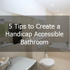 Tips to Create a Handicap Accessible Bathroom icon