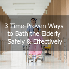 Ways to Bath the Elderly Safely and Effectively icon