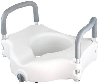 Raised Toilet Seat by Vive