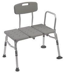 drive medical plastic tub transfer bench