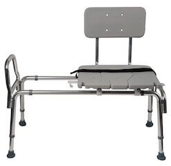 Duro-Med Heavy-Duty Sliding Transfer Bench