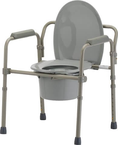 NOVA Medical Folding Commode