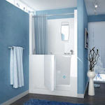 Walk In Tub With Curtain